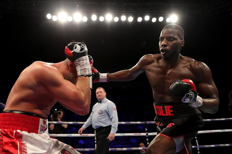 Lawrence Okolie is looking for win number 12. (Getty Images)