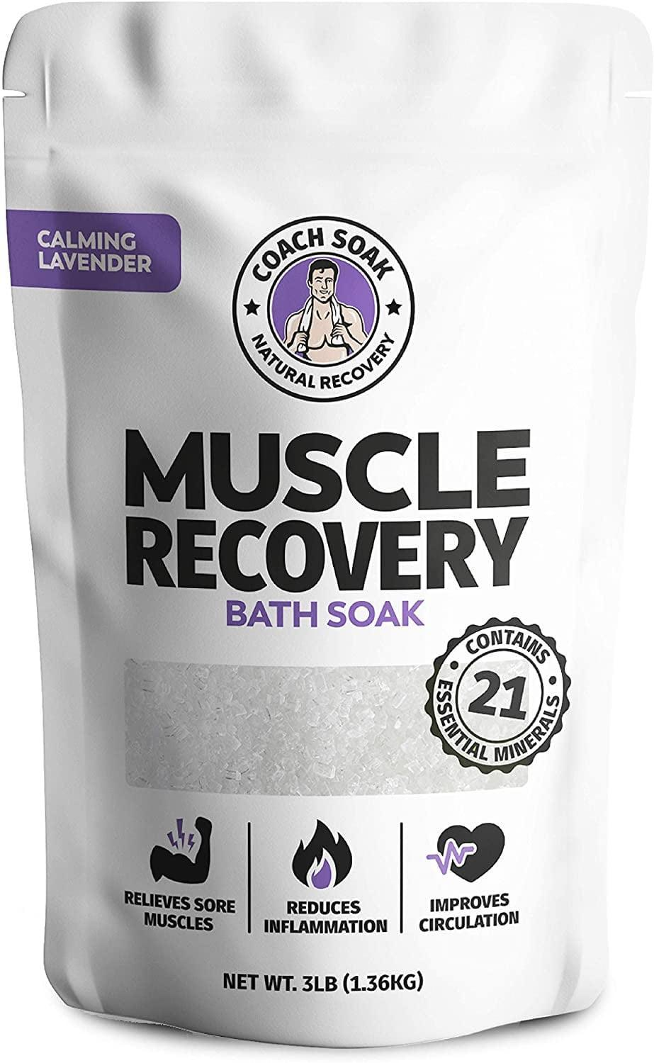 <p>If you love working out but hate the post-workout muscle pain, you need to try the <span>Coach Soak: Muscle Recovery Bath Soak</span> ($25). It's a natural magnesium muscle and joint reliever. </p>