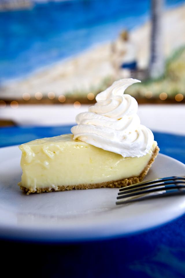 <p>I can personally attest to a Florida Keys key lime pie being incomparable to any other dessert. You'll be wanting to eat a whole pie in one sitting. One of the funnest (and yummiest!) things to do in Key Largo is sampling all things key lime-flavored, like key lime popsicles, key lime shakes, key lime coconut patties, and more. You get the idea.</p>