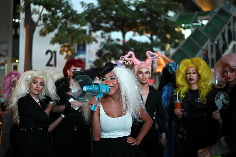 "The Wider Image: Meet the Thai ""Drag Race"" star marching for democracy and equality"