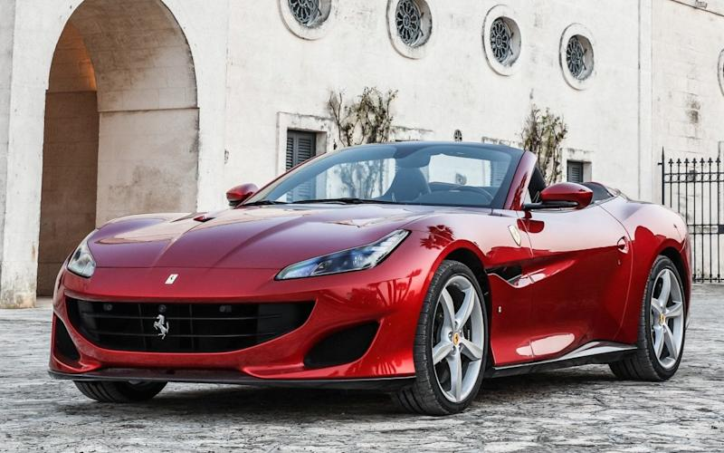 The allure of a Ferrari convertible isn't strong enough for us to overlook this car's minor handling imperfections
