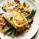 """<p>Simple, sauteed Lemon-Garlic Asparagus is an <a href=""""https://www.myrecipes.com/side-dish-recipes"""" rel=""""nofollow noopener"""" target=""""_blank"""" data-ylk=""""slk:easy side dish"""" class=""""link rapid-noclick-resp"""">easy side dish</a> that adds color and garlicky flavor to your meal.</p>"""