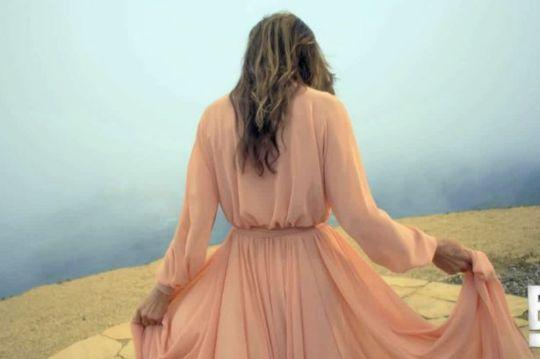 """<p>In a promo for the upcoming docuseries """"I Am Cait,"""" Jenner was seen wearing a blush pink dress, giving off a very '70s vibe. """"I'm telling my story,"""" Jenner says to the camera. """"People don't understand looking into the mirror and nothing seems right, putting on clothes that you just really don't identify with. This is about getting to be who you really are.""""</p>"""