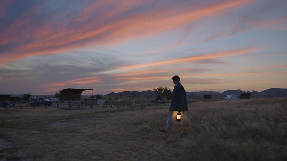 Frances McDormand as Fern in Nomadland (Searchlight Pictures/20th Century Studios)