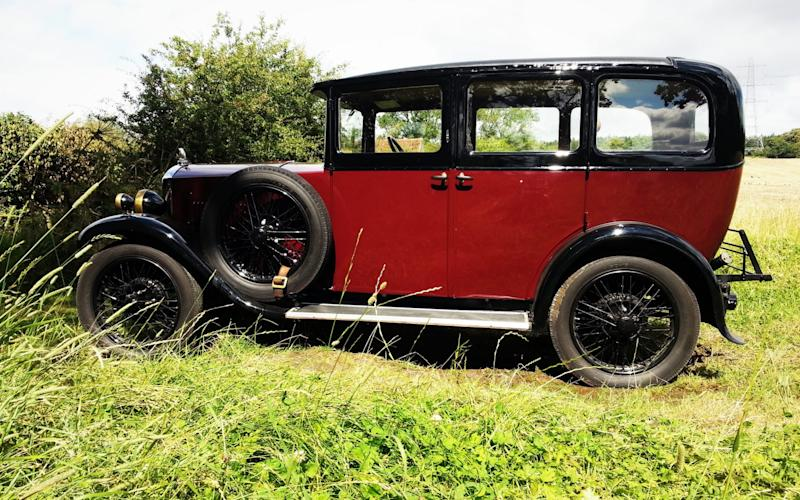 Mr Wills painstakingly restored the 1929 Humber to its former glory - Credit: Robin Wills