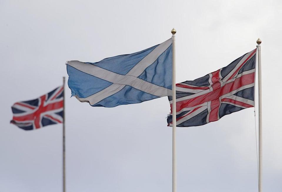 The poll found agreement in Scotland, Wales and England over shared values (Yui Mok/PA) (PA Archive)