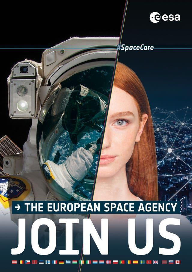 The European Space Agency is encouraging women to apply