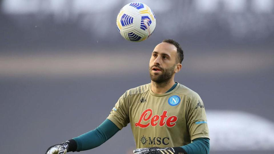 Il portiere azzurro Ospina | Jonathan Moscrop/Getty Images