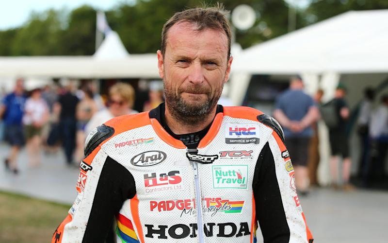 Bruce Anstey at the Goodwood Festival of Speed in 2017 - Action Plus