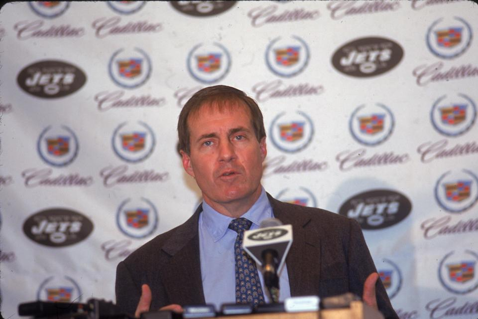 <p>Belichick's rivalry with the Jets goes far beyond the on-field competition against his New England Patriots. After spending three years as the Jets' assistant head coach from 1997-99, Belichick was set to take over as the team's head coach. In what was advertised as his introductory press conference, Belichick shocked the football world and announced his resignation because he was taking the coaching job with the Patriots. And the rest is history. </p>