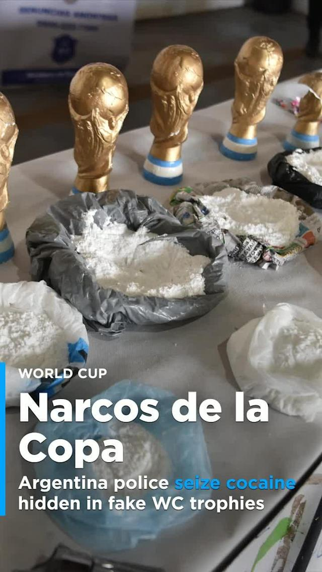 "With all of the excitement surrounding the 2018 World Cup, many are taking advantage, including the so-called ""Narcos de la Copa"" organization that trafficked marijuana and cocaine. On Friday, in Argentina, police seized the organization's drugs."