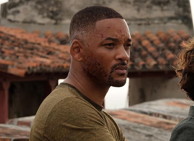 Will Smith en Géminis (Ben Rothstein; Copyright: ©2019 PARAMOUNT PICTURES. ALL RIGHTS RESERVED.)