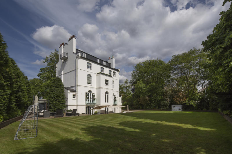Rihanna's London mansion. Photo: Lawrie Cornish