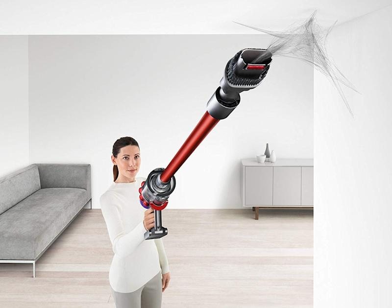 Make short work of housework with the Dyson V10. (Photo: Amazon)