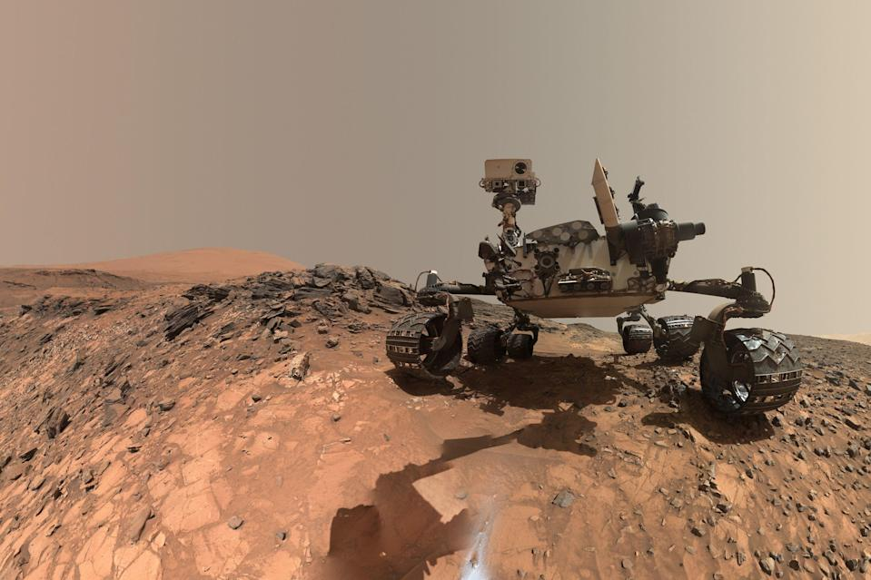 It's been six years since the Mars rover Curiosity landed on the Red Planet (NASA)