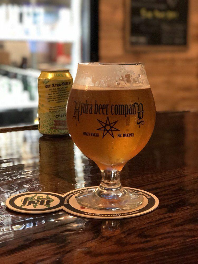 """<p><a href=""""http://www.yelp.com/biz/hydra-beer-company-sioux-falls"""" rel=""""nofollow noopener"""" target=""""_blank"""" data-ylk=""""slk:Hydra Beer Company"""" class=""""link rapid-noclick-resp"""">Hydra Beer Company</a>, Sioux Falls</p><p>""""Nice place, great atmosphere, friendly staff, great beer. Anyone in the Sioux Falls area who is interested in craft beer should check this place out!"""" - Yelp user <a href=""""https://www.yelp.com/user_details?userid=y2Y1xq44fXt7aDr_ByyPHw"""" rel=""""nofollow noopener"""" target=""""_blank"""" data-ylk=""""slk:Josh N."""" class=""""link rapid-noclick-resp"""">Josh N.</a></p>"""