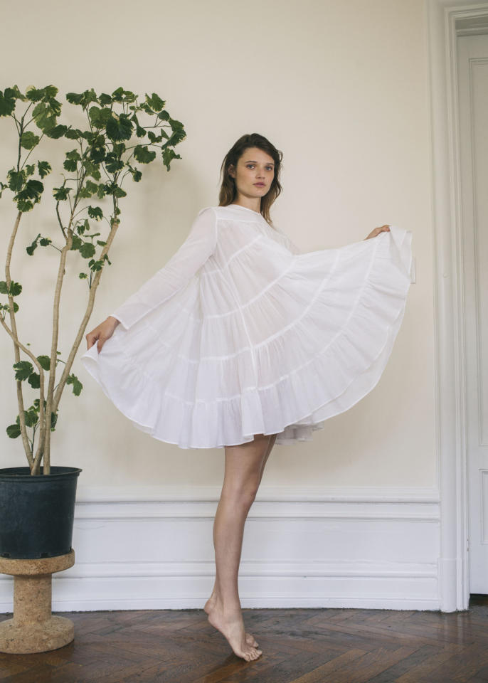 """<p>Merlette Soliman Dress, $320, <a href=""""https://merlettenyc.com/collections/frontpage/products/soliman-dress?variant=24298617286"""">merlettenyc.com</a></p>"""