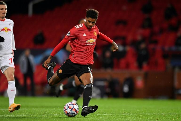 Inspiration: Marcus Rashford's performances on the field have not suffered despite the time dedicated to his off-field activism