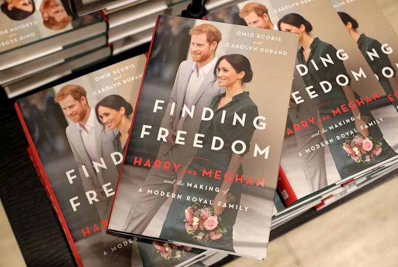 Finding Freedom: Harry and Meghan and the Making of A Modern Family is a biography of Prince Harry and Meghan Markle which was released in the summer. (Photo: Getty Images)