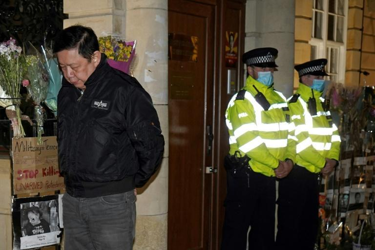 Diplomats loyal to Myanmar's junta have seized the country's embassy in London, leaving ambassador Kyaw Zwar Minn locked out in the street