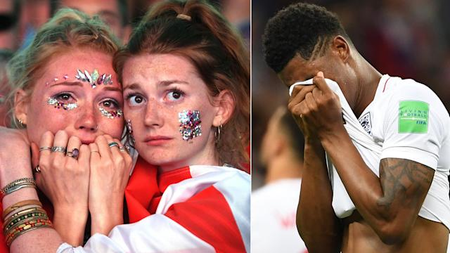 Millions of people tuned in to witness more England heartbreak.