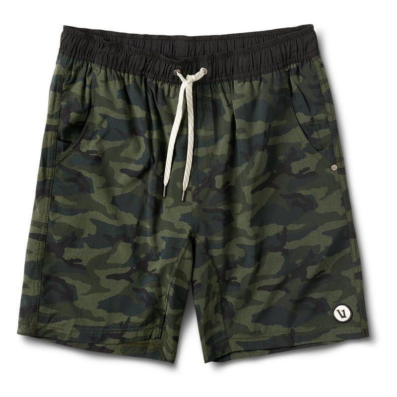 """<p>vuoriclothing.com</p><p><strong>$68.00</strong></p><p><a href=""""https://go.redirectingat.com?id=74968X1596630&url=https%3A%2F%2Fvuoriclothing.com%2Fproducts%2Fkore-short-olive-camo%3Fvariant%3D22965500248122&sref=https%3A%2F%2Fwww.menshealth.com%2Ffitness%2Fg26286782%2Fbest-running-shorts%2F"""" rel=""""nofollow noopener"""" target=""""_blank"""" data-ylk=""""slk:Shop Now"""" class=""""link rapid-noclick-resp"""">Shop Now</a></p><p>This versatile short is a solid choice for laid-back runners, or really anyone who makes comfort their number one priority. The Kore has a built-in liner and is made of water-resistant material, so if your jog takes you to the beach, all the better.</p>"""