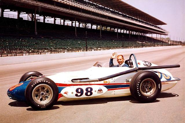 "Parnelli Jones the morning after his 1963 Indy triumph. <span class=""copyright"">IndyCar Series</span>"