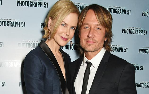 Nicole Kidman and Keith Urban. Photo: Getty Images.