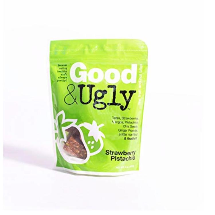 Good & Ugly Strawberry Pistachio Fruit & Nut Bites. (Photo: Amazon)