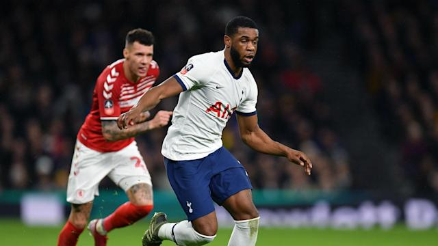 Japhet Tanganga has taken his first-team chance at Tottenham, with the young defender impressing head coach Jose Mourinho.