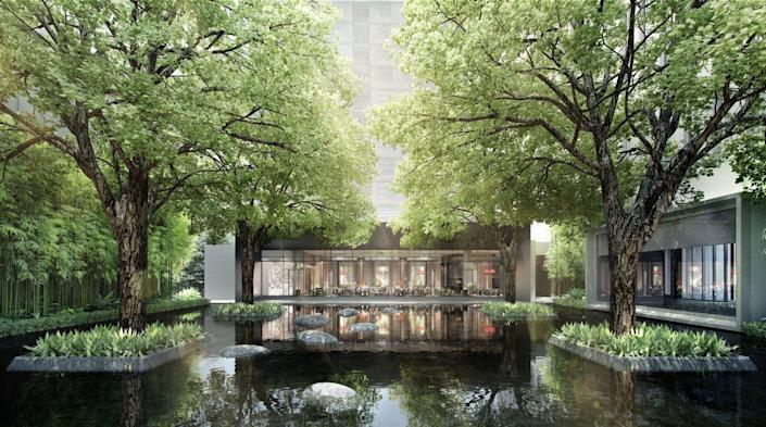 """<p>Get the best of Bangkok in 2021 with the Four Seasons's take on luxury accommodations in this burgeoning city. <a href=""""https://www.fourseasons.com/bangkok/"""" rel=""""nofollow noopener"""" target=""""_blank"""" data-ylk=""""slk:Four Seasons Hotel Bangkok at Chao Phraya River"""" class=""""link rapid-noclick-resp"""">Four Seasons Hotel Bangkok at Chao Phraya River</a> delicately blends the modern and traditional to create a spectacular visitor experience all its own. Find seclusion with private experiences, from after-hours gallery hopping to exclusive tastings, while being at the center of the city's history and nightlife. Biophilic architecture ensures the outdoors are all around you, whether you're dining, imbibing, or enjoying a fitness class. </p><p><em>Four Seasons Hotel Bangkok at Chao Phraya River opened in February 2021. Nightly rates start at $347. We are also looking forward to the opening of <a href=""""https://www.cayechapel.com/"""" rel=""""nofollow noopener"""" target=""""_blank"""" data-ylk=""""slk:Four Seasons Resort and Residences Caye Chapel"""" class=""""link rapid-noclick-resp"""">Four Seasons Resort and Residences Caye Chapel</a> in Belize in 2021. </em></p>"""
