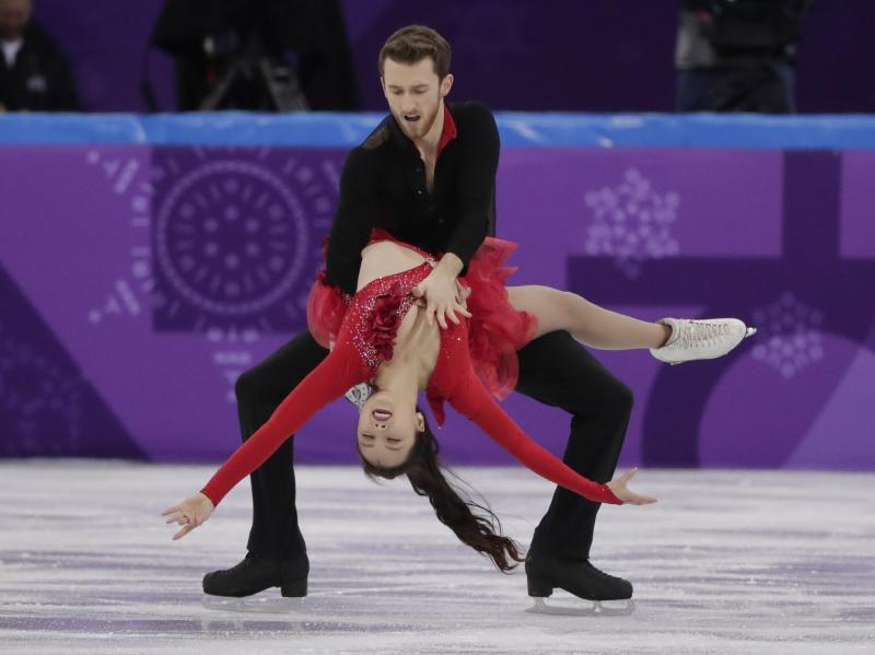 Wardrobe Malfunction Hurts South Korean Ice Dancers Dancing Videos