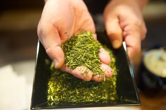 Green tea preparation is an art all its own (Mark Stratton)