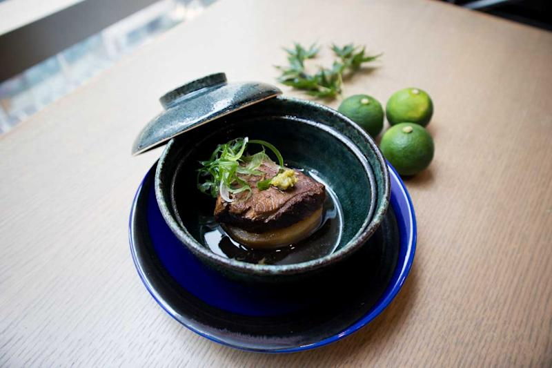 Braised Otoro. (Photo: Zat Astha/Yahoo Lifestyle Singapore)