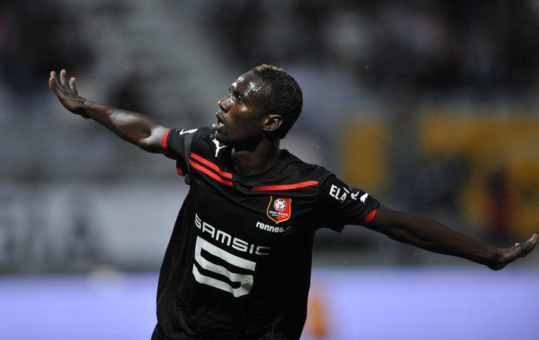 This picture taken on August 14, 2010 shows Guinean forward Ismael Bangoura in Tomblaine, eastern France