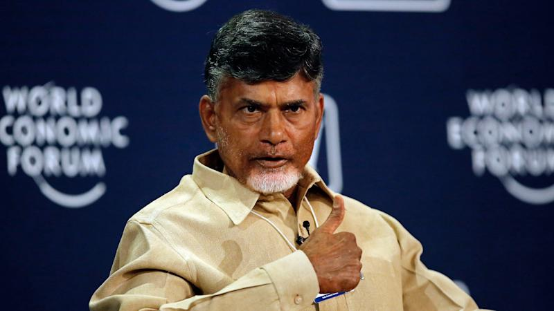 Chandrababu Naidu' Son and Ten Others Sworn in as AP Ministers