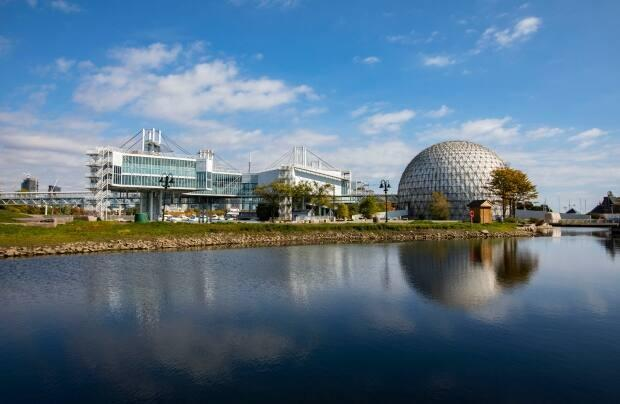 What Ontario Place looked like in the fall of 2019.