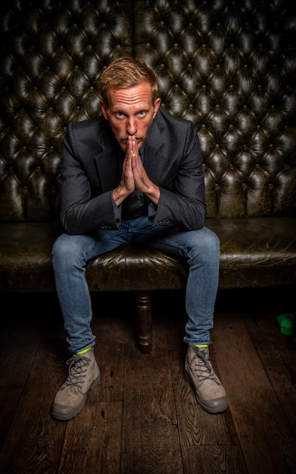 """Laurence Fox: """"Every time I think of Reclaim, often I do think of a reclamation yard and I rather like it"""" - Paul Grover for the Telegraph"""
