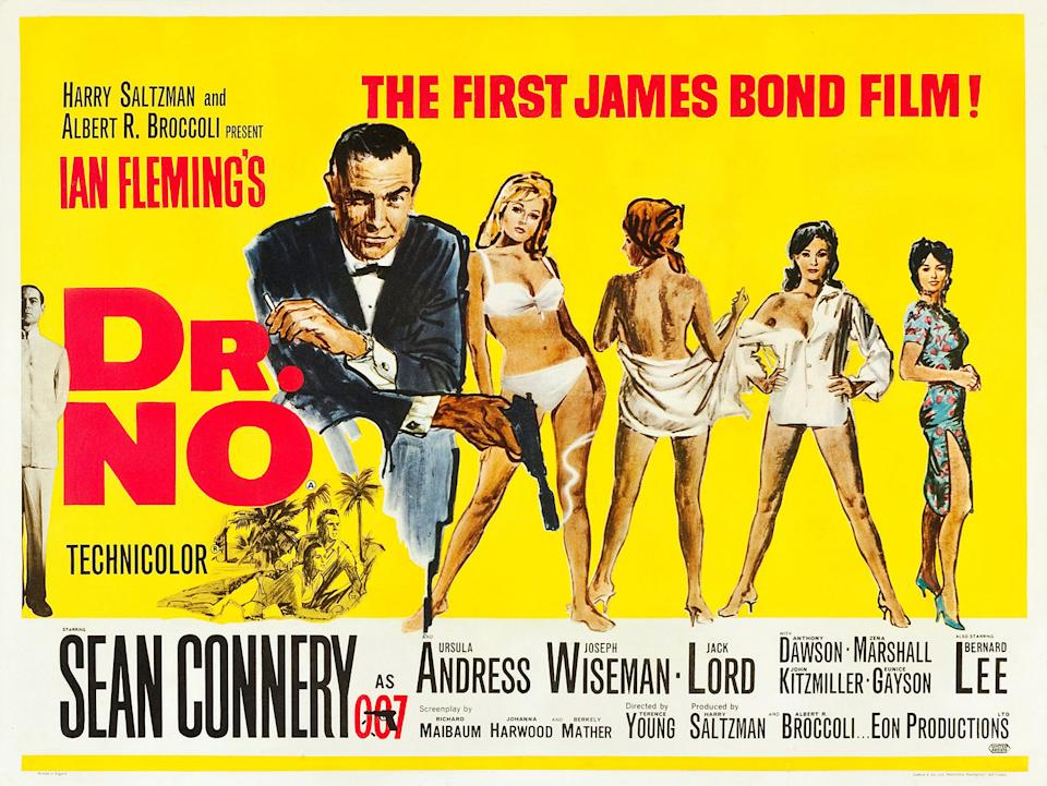 A cruelly low ranking for the film that started it all, however it lacks many of the common ingredients that make Bond Bond. (Eon/MGM)