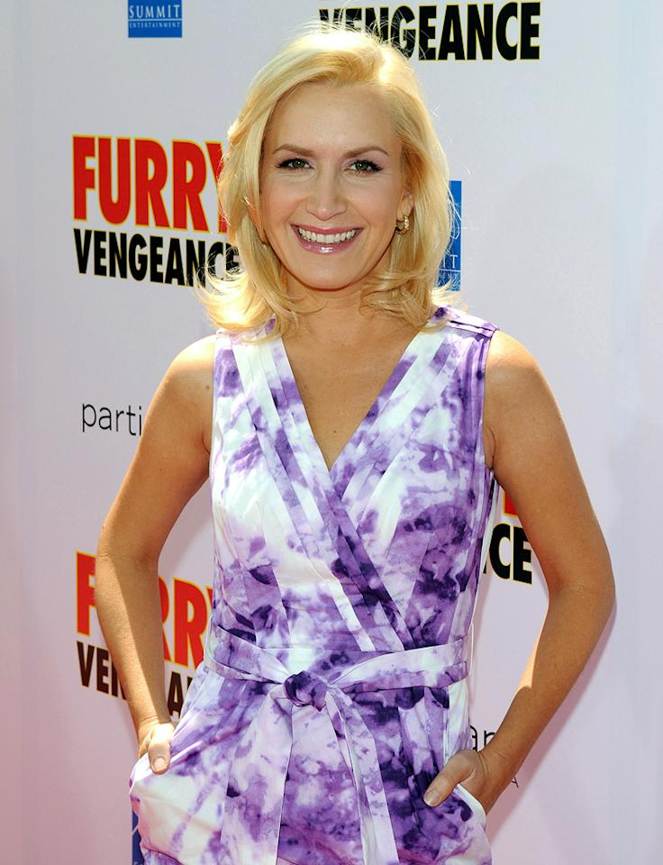 "Angela Kinsey at the Los Angeles premiere of <a href=""http://movies.yahoo.com/movie/1810089717/info"">Furry Vengeance</a> - 04/18/2010"