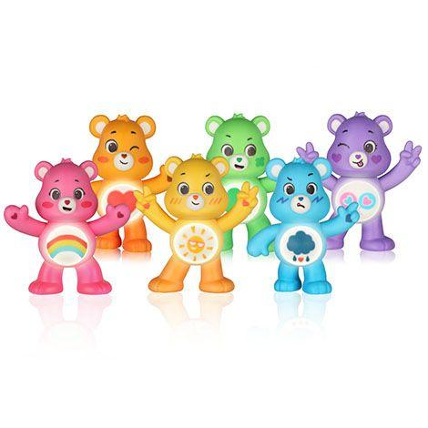 <p>The Care Bears are back, and brighter and more expressive than ever! But these aren't just mere figures: Press on their paws, and they can talk, tell jokes, and sing. Collect more than one, and the bears will interact with each other (and, yes, combine to do a Care Bear Stare).</p><p><em>Age: 4+<br>Price: $15<br>Expected release date: Fall 2020</em><br></p>
