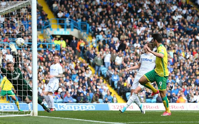 <span>Leeds' failure to beat Norwich ended their hopes of promotion</span> <span>Credit: Rex </span>