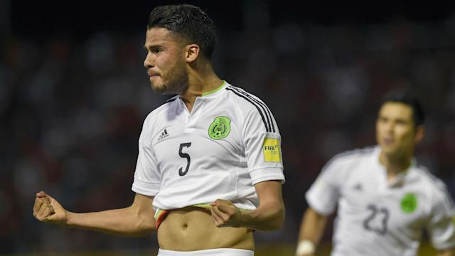 The hosts thought they had taken the lead against Mexico after a swift attacking move, only for it to be chalked off in a rather bizarre call