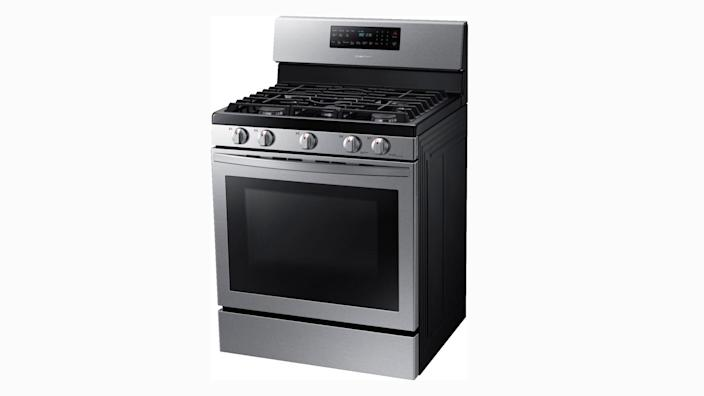 This gas convection range is at a great price.