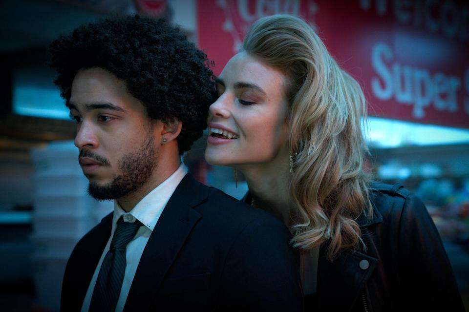 """<strong><em>Night Teeth</em></strong><br><br>It's coming up to Spooky SZN and this horror-thriller is exactly the thing to fill that shadowy void in our lives. It follows a college student moonlighting as a chauffeur who is pulled into the dangerous underworld of two mysterious women when he picks them up for a night of party-hopping across Los Angeles. Expect blood, vampires and horny, horny college students.<br><br>Available 20th October <span class=""""copyright"""">Photo Courtesy of Netflix.</span>"""