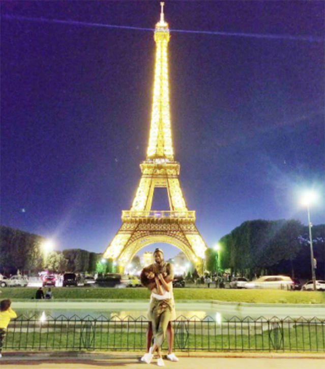 "<p>When the fashion part was through, they played tourists in Paris on a beautiful night. ""Last night in Paris, had to,"" Union wrote of their Eiffel Tower photo. (Photo: <a href=""https://www.instagram.com/p/BVxzK9xgcsH/?hl=en"" rel=""nofollow noopener"" target=""_blank"" data-ylk=""slk:Gabrielle Union via Instagram"" class=""link rapid-noclick-resp"">Gabrielle Union via Instagram</a>) </p>"