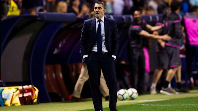 Barcelona should be satisfied with their achievements this season, despite their early Champions League exit, claims Ernesto Valverde.