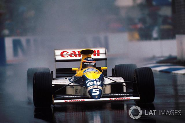 "1989 Thierry Boutsen, Williams <span class=""copyright"">Sutton Images</span>"