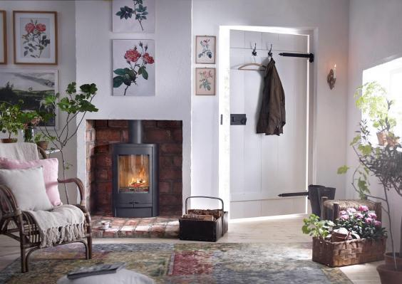 'In front of the fire, you will feel more connected to your surroundings and more switched off from the busyness of everyday life' (Contura)