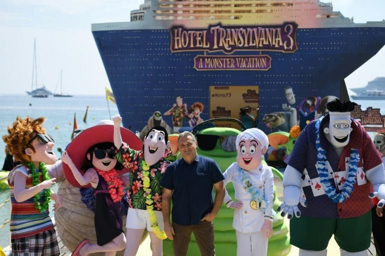 'Hotel Transylvania 3: Summer Vacation' took an estimated $44.1 million in ticket sales during its first weekend in North American theaters